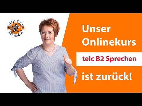 """Unser Onlinekurs """"telc B2 Sprechen"""" ist zurück!"""