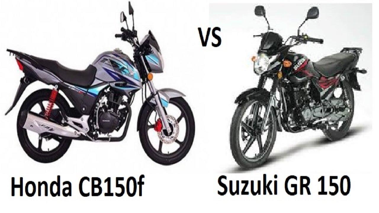 Honda CB150F vs Suzuki GR150- what to chose?