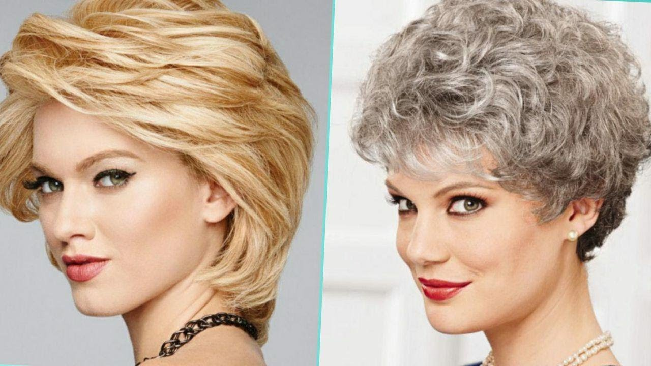 Best Haircuts For Women Over 50 60 To 70 Hair Cuts Hairstyles For Women Over 50 60 70 Plus Youtube
