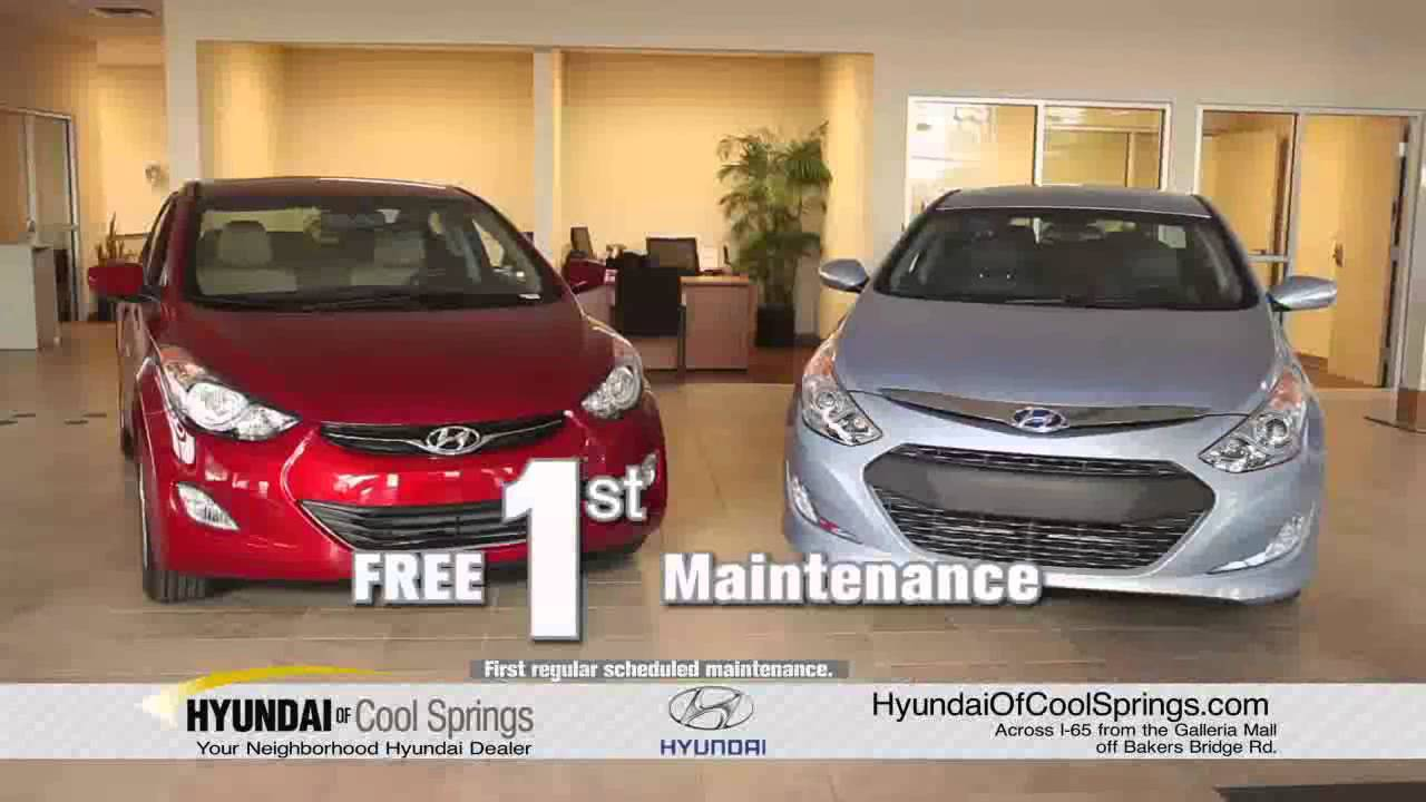 Free Pick Up U0026 Delivery At Hyundai Of Cool Springs