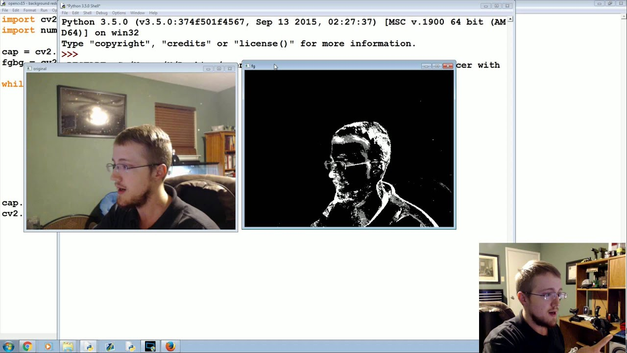 MOG Background Reduction - OpenCV with Python for Image and Video Analysis  15