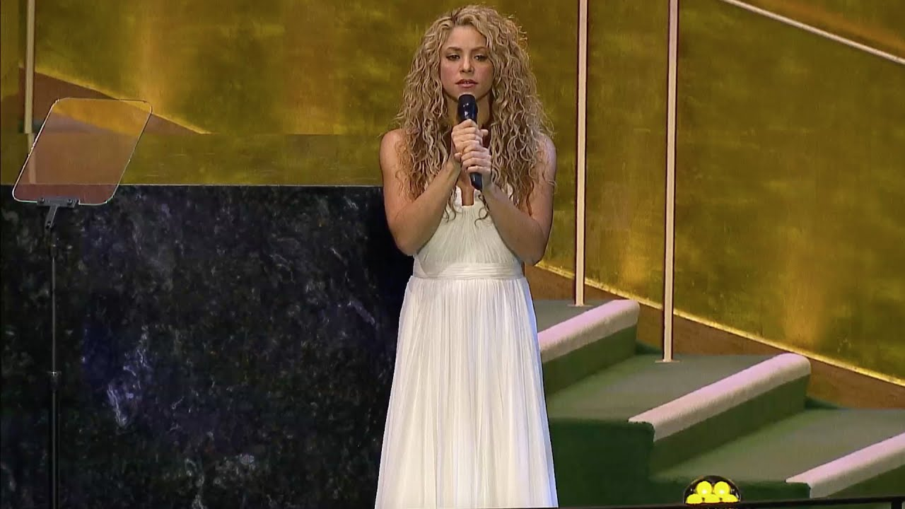 Download Shakira - Imagine (Live at the UN's General Assembly 2015)