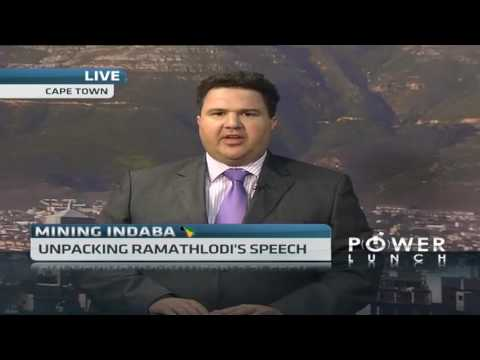 Unpacking Ramathlodi's speech at the Mining Indaba