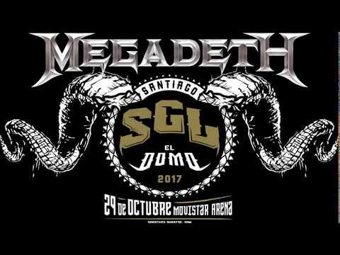 Megadeth en Santiago Gets Louder 2017 (Audio Radio Futuro)