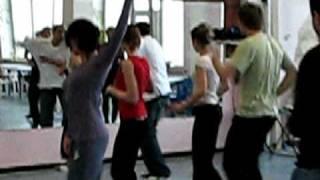 Урок танцев. Меренге с Эрнесто, Куба. Школа танцев. Киев