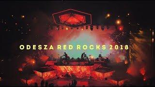 odesza at red rocks 2018