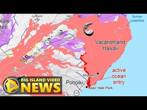 Hawaii Volcano Eruption Update - Tuesday Afternoon (July 24, 2018)