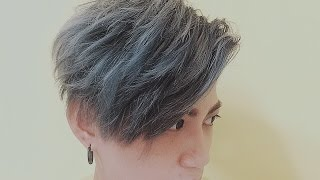 【髮型】 旁分瀏海 HairStyle Tutorial By Vilain | ZhangJ