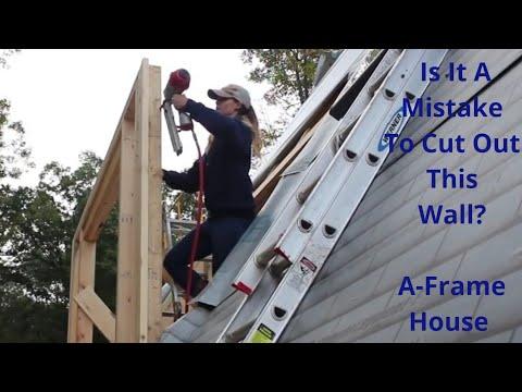 #11 Completion Of A-FRAME Dormer Part 2
