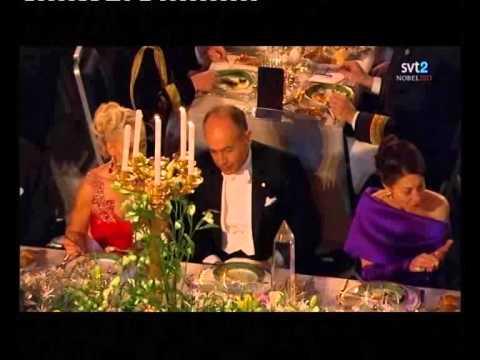 Nobel gala dinner 2013