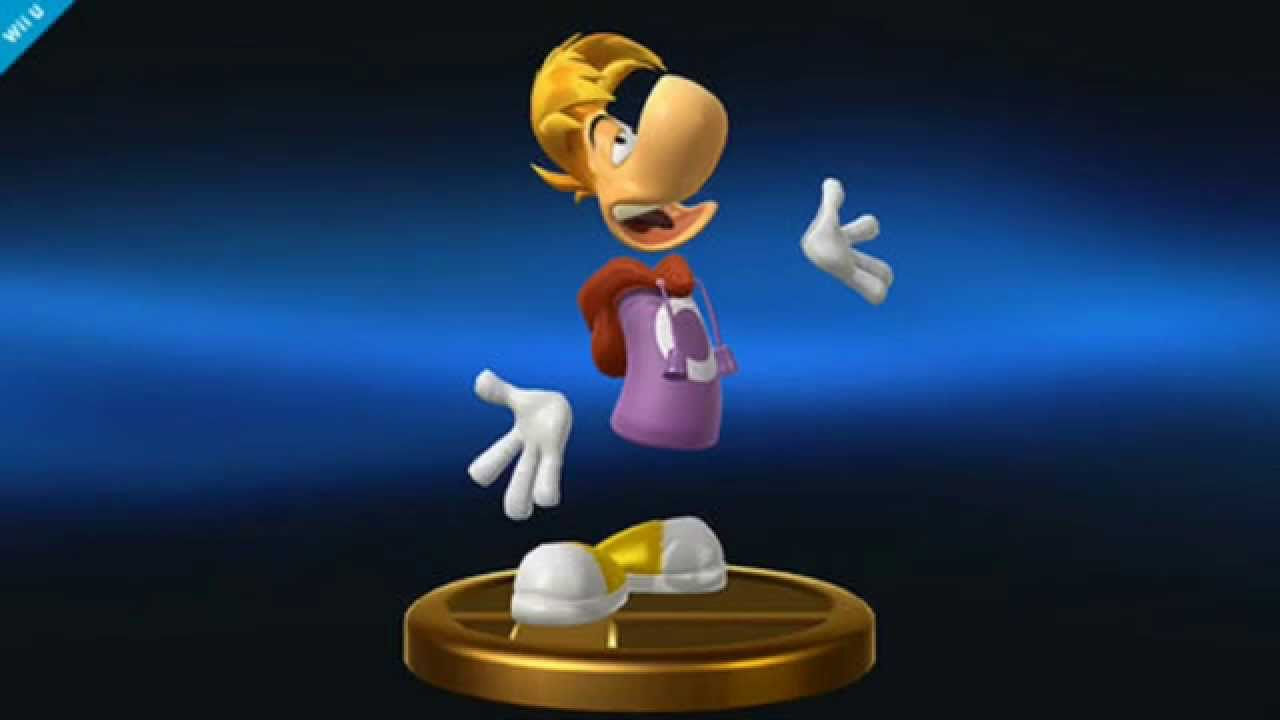 Image result for rayman smash bros trophy