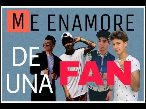 Rk , Sebastian, Juanpa y Mario Ruiz / Me enamore de una Fan