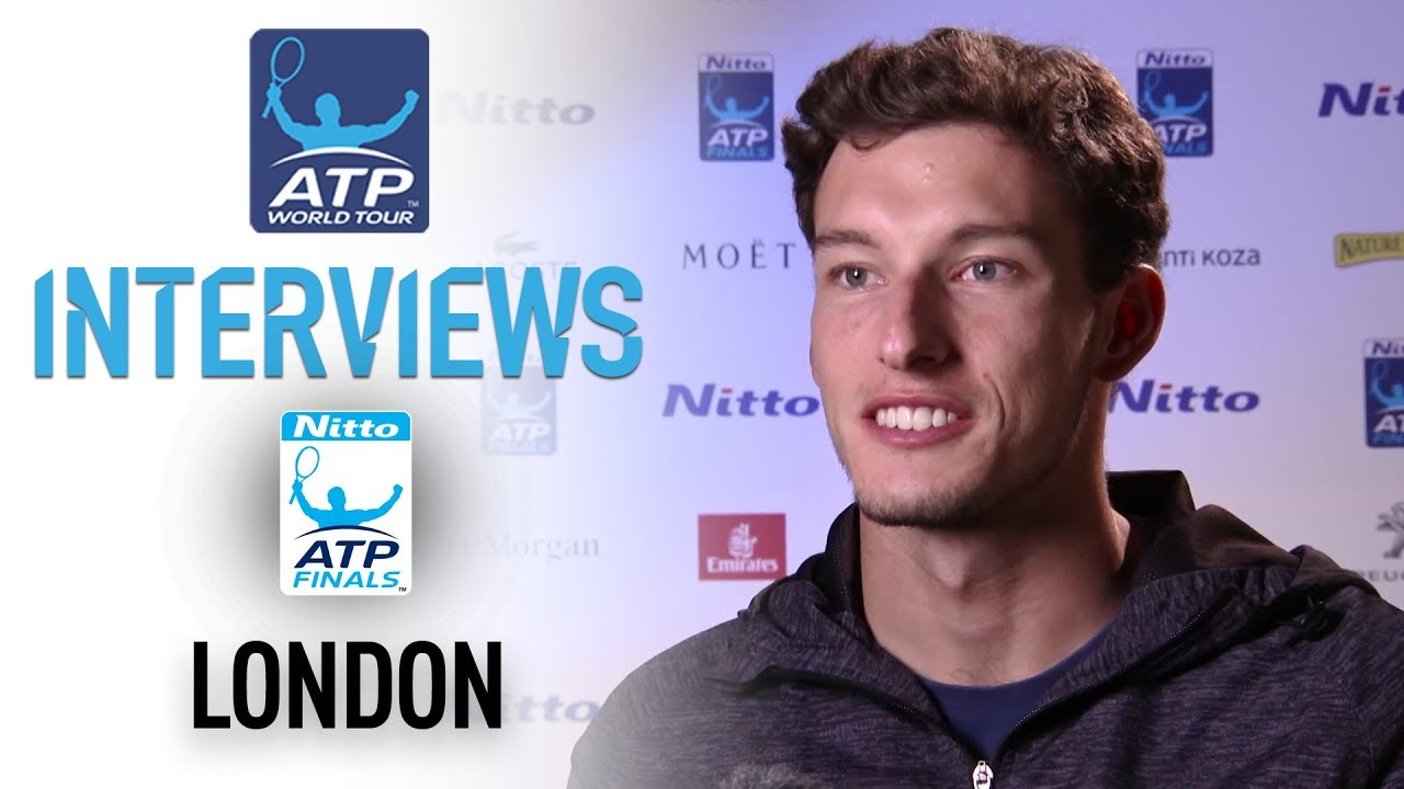 Carreno Busta Enjoying Opportunity To Play At Nitto ATP Finals 2017 -  YouTube