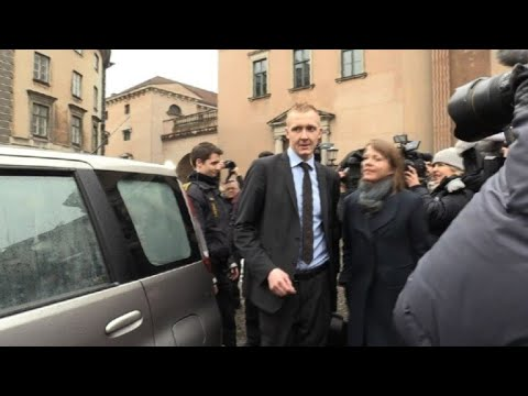 Prosecutor in Peter Madson trial leaves court in Copenhagen