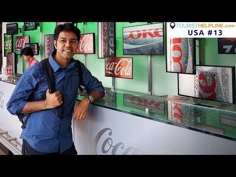 ATLANTA TOUR: Secret formula of Coca-Cola | CNN Headquarters | Veg Food