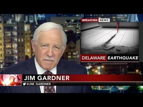 WPVI Action News 6ABC Philadelphia - 4 1 Earthquake Breaking News [11 30 17]