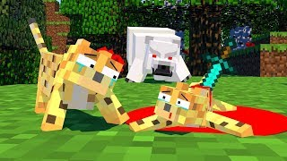 Zombie vs Ocelot Life - Minecraft Animation
