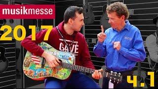 Артём Майер на MusikMesse 2017 Музыкальная выставка во Франкфурте part 1