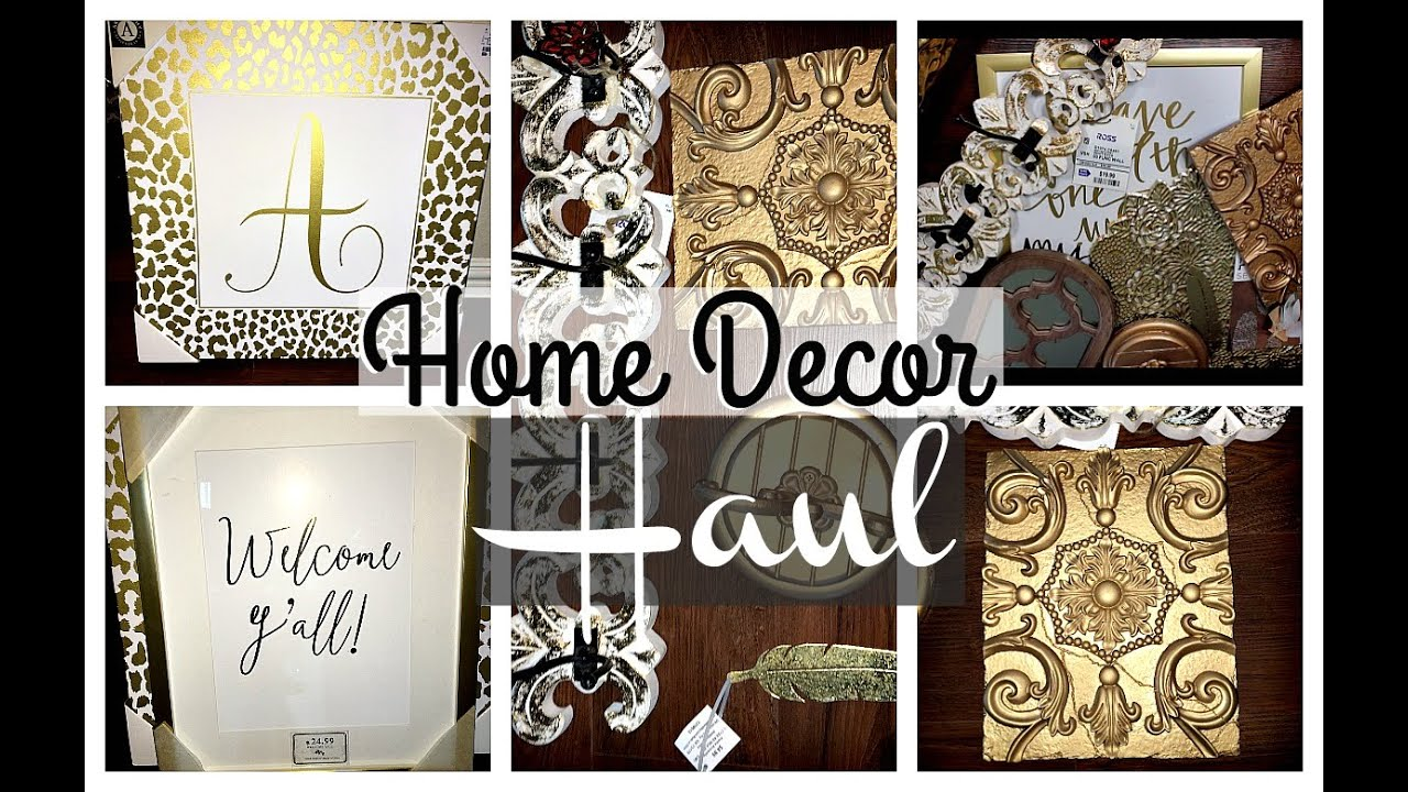 Home Decor Haul Ross Hobby Lobby