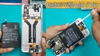 Xiaomi Redmi Y2- Battery Replacement    How to Solve Redmi Y2 Battery Problems- Redmi Y2 Disassembly
