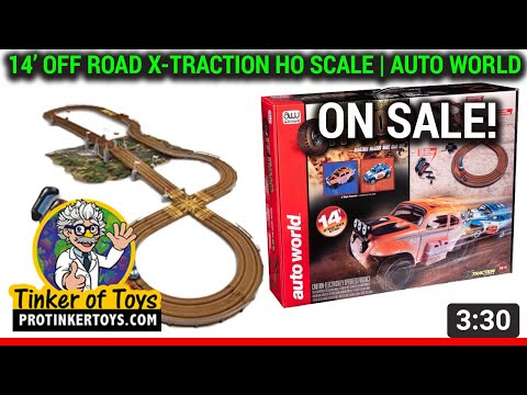 UNBOXING | 14' Off Road X-Traction HO Scale | Auto World