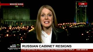 Resignation of Russian government explained: Lucy Taylor