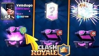 NUEVA ANIMACIÓN cuando TOCA LEGENDARIA & NUEVOS CAMBIOS!! | Clash Royale | Rubinho vlc