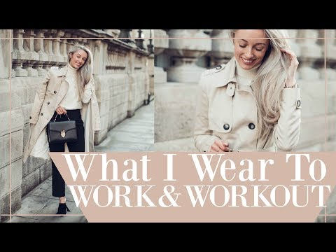 WHAT I WEAR TO WORK & WORKOUT!  //  Weekly Vlog + Outfit Diaries  // Fashion Mumblr