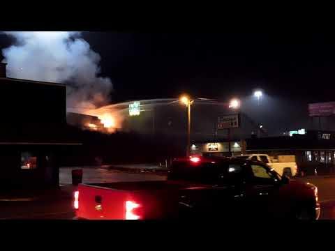 SEMI TRUCK FIRE W/EXPLOSIVES ON BOARD - I-70 WHEELING WV FIRE DEPT