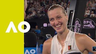 Petra Kvitova on-court interview (SF) | Australian Open 2019