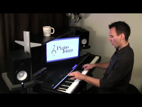 The Bare Necessities - Ragtime Piano Arrangement by Jonny May
