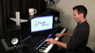 Download The Bare Necessities - Ragtime Piano Arrangement by Jonny May MP3 song and Music Video