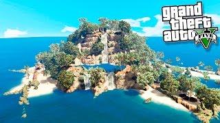 GTA 5 Моды: Выживаем на необитаемом острове - Один на необитаемом острове!(GTA 5 МОДЫ / ГТА 5 Моды - рубрика, в который мы с вами смотрим на различные моды для GTA 5. Сегодня мы с вами посмотр..., 2016-08-14T14:17:59.000Z)