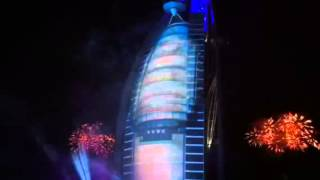 UAE National Day Celebration BURJ AL ARAB 02DEC13 (the best spot)