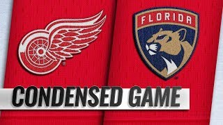 Detroit Red Wings vs Florida Panthers – Oct.20, 2018 | Game Highlights | NHL 18/19 | Обзор матча