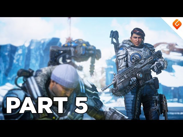 GEARS 5 Walkthrough Gameplay Part 5 - No Commentary