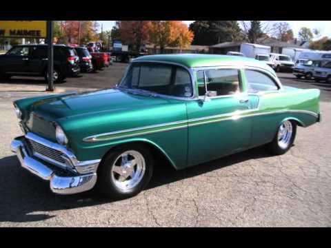1956 Chevrolet Bel Air 150 210 2 Door Post For Sale In