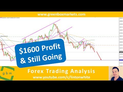 $1600 Profit On This Gold Trade And Still Going - Analysis by Green Box Markets