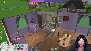 Remodeling the Dreamer's House! Sims 2 Pleasantview (Streamed 09/16/20)