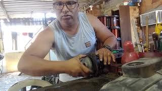 Ensinando a fazer uma manutenção numa bomba D'água marca danço de 1/3cv