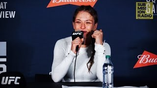 UFC 205: Karolina Kowalkiewicz Reacts to Joanna Jedrzejczyk Loss