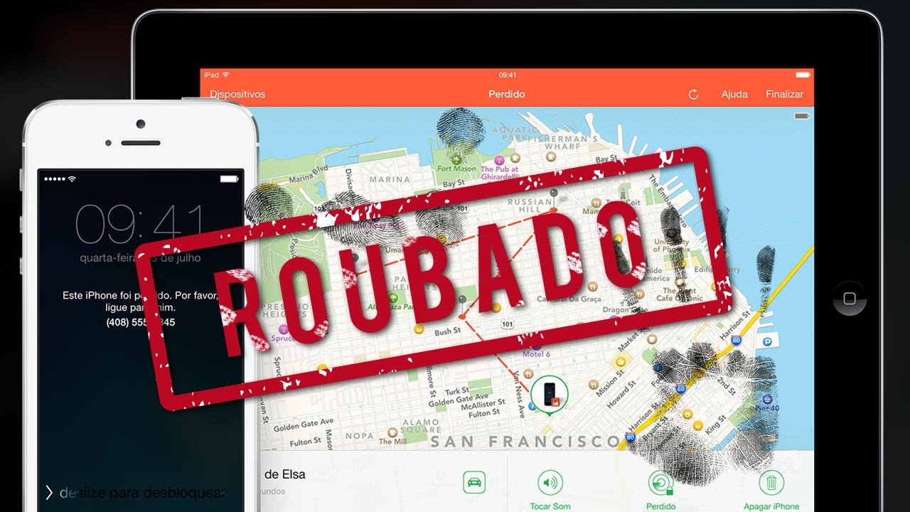 Como localizar iphone 6 Plus roubado