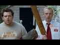 Shaun Of The Dead - Record Throwing And TV Scene