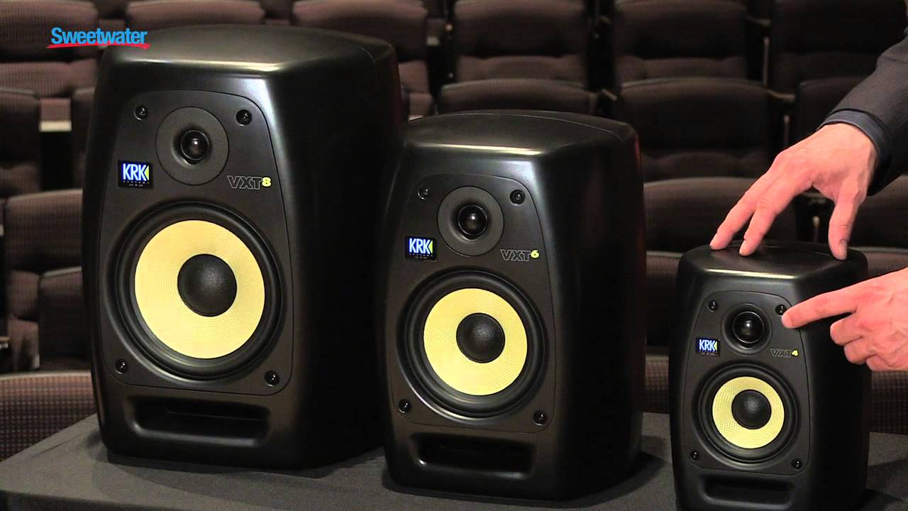 Krk Vxt Series Studio Monitors Overview Sweetwater Sound Youtube