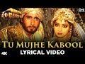 Tu Mujhe Kabool Lyrical Khuda Gawah Amitabh Sridevi Kavita Krishnamurthy Mohammad Aziz
