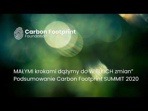Carbon Footprint Summit 2020 - Podsumowanie