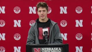Luke McCaffrey Indiana postgame