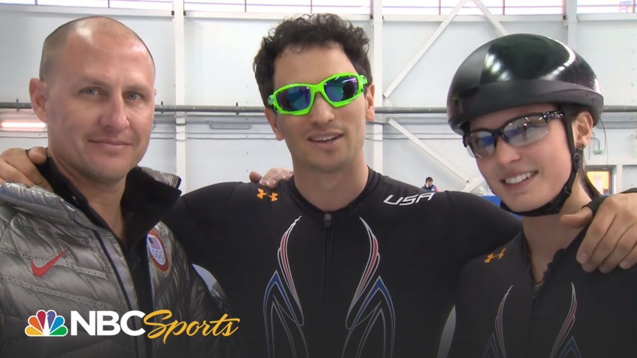 2014 Winter Olympics: Jeremy Bloom Learns to Speed Skate | NBC Sports
