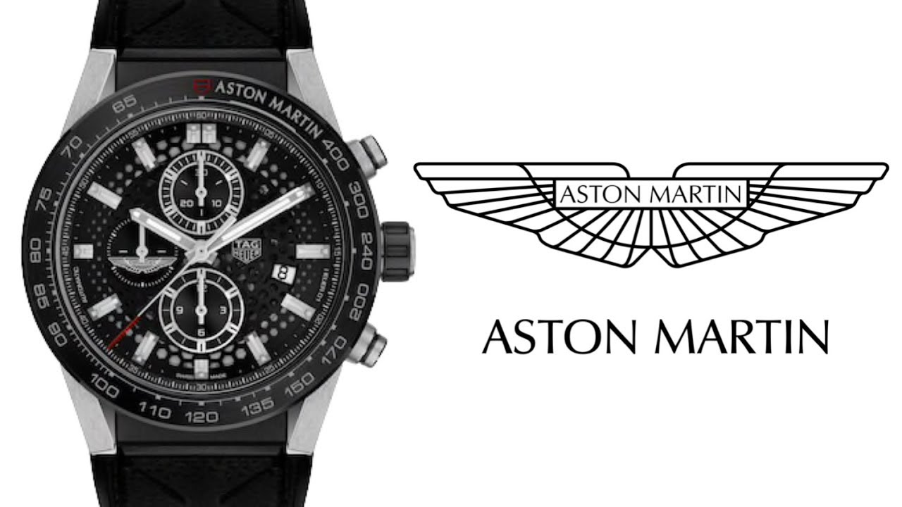 Review Tag Heuer Carrera Aston Martin Racing Special Edition Youtube
