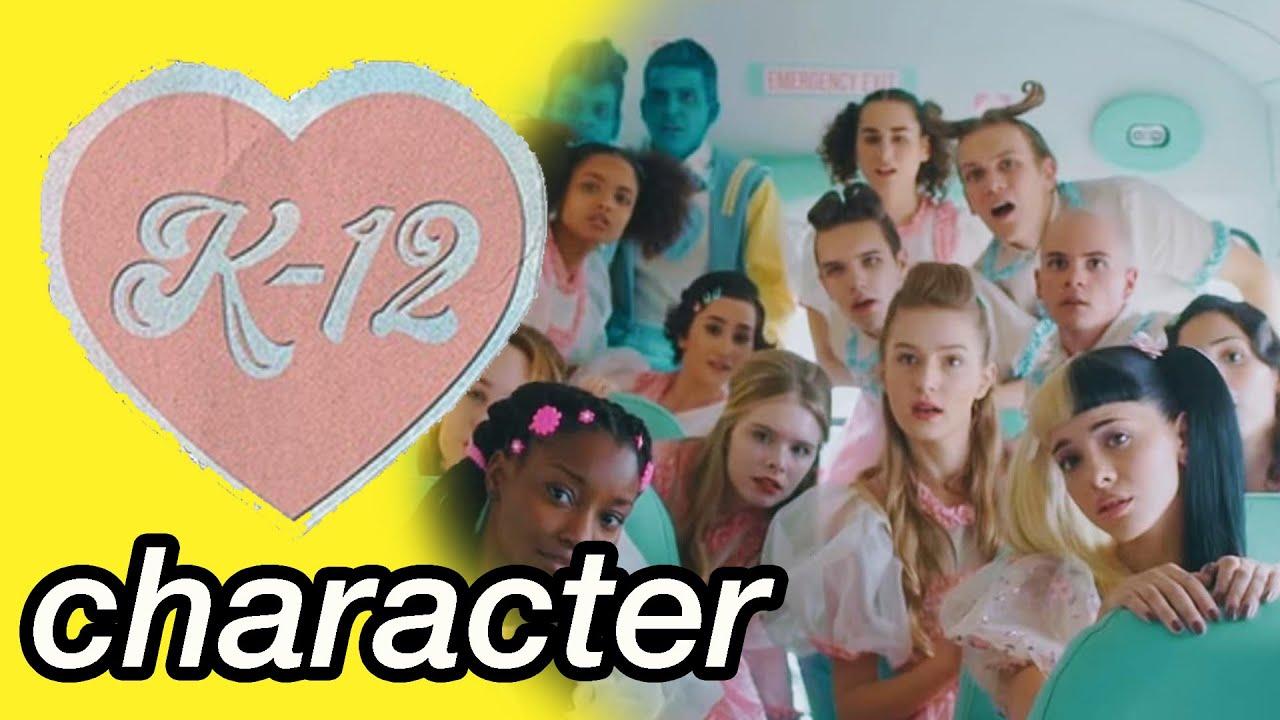 guess that k-12 character challenge | melanie martinez games - mel's corner